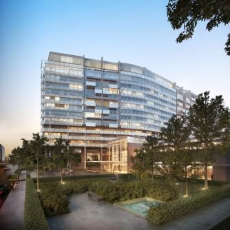 Richard Meier design renderings
